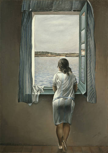 Salvador-Dali-Woman-at-the-Window-at-Figueres-1926
