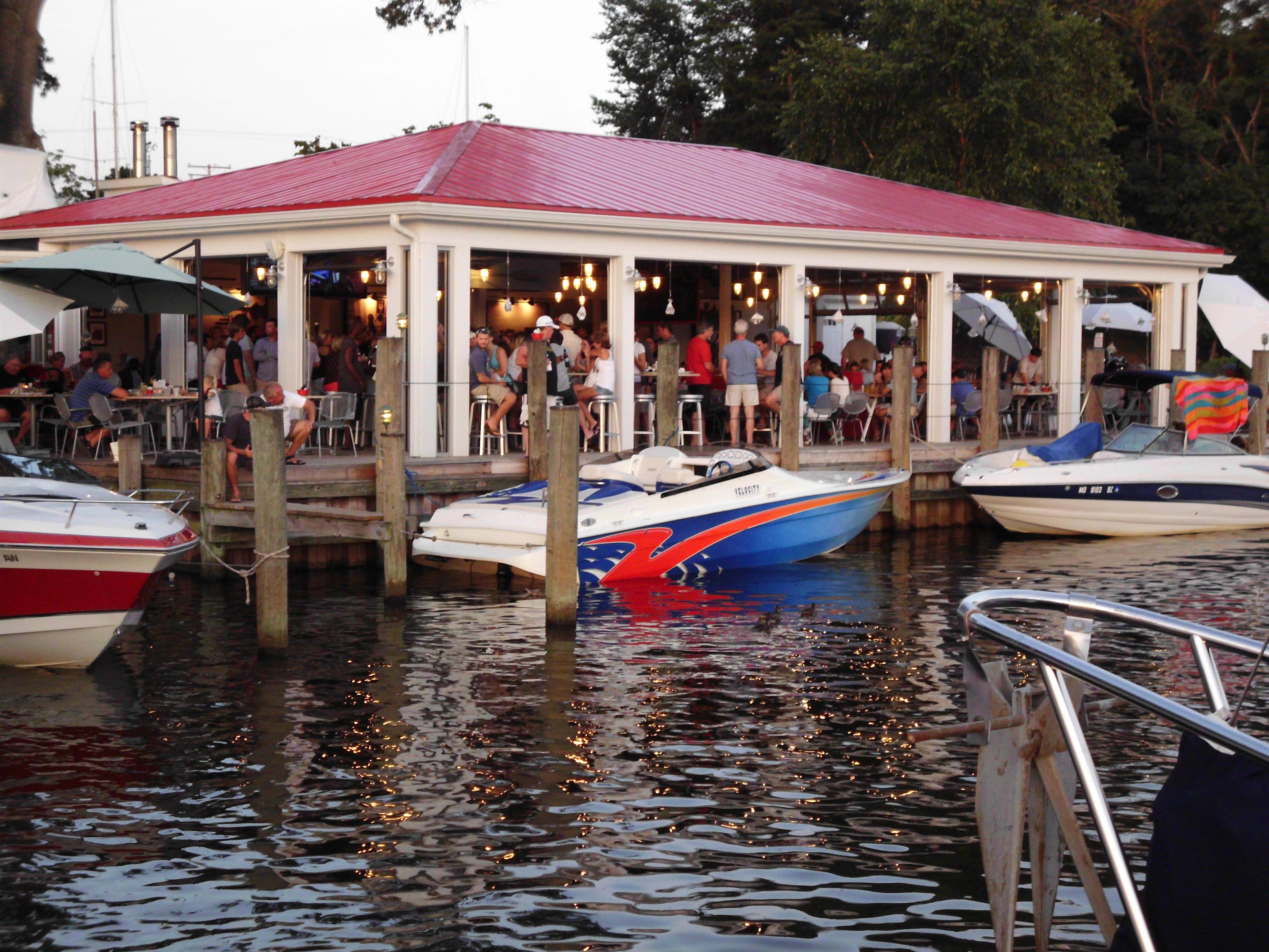 Greater Annapolis Restaurants Waterview Writer Gary Garth
