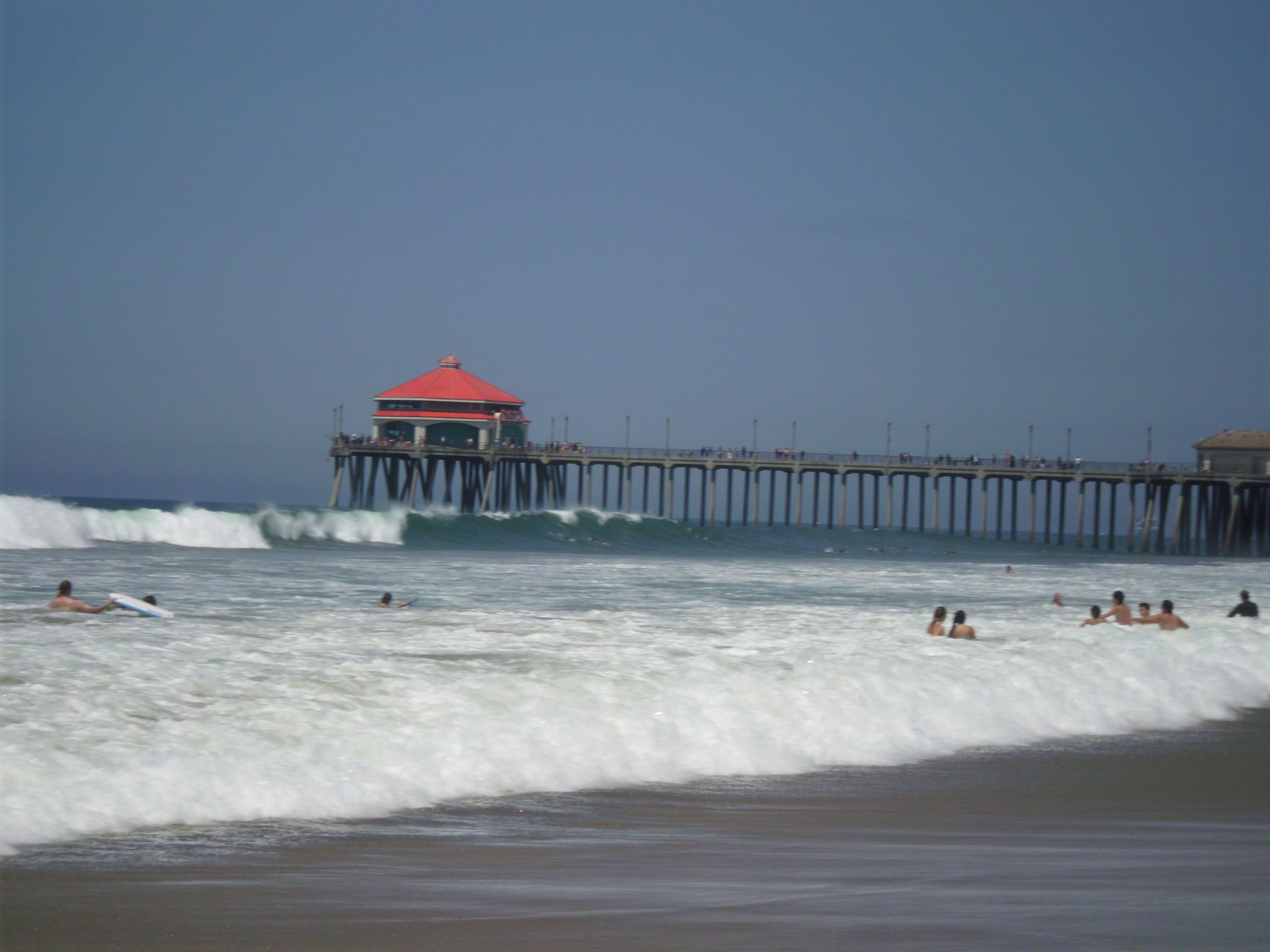 Can t get to the ocean this summer watch and listen to for Huntington beach pier fishing